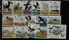 Ascension Sc 196-211 NH issue of 1976 - Birds