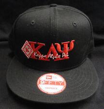 Kappa Alpha Psi Black New Era NE400 Snap Back with Red Letters Diamond Patch