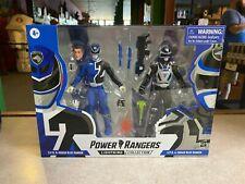 2021 Power Rangers Lightning SPD B-SQUAD & A-SQUAD BLUE RANGER Figure 2 Pack NIB