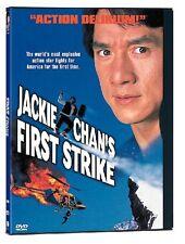 Jackie Chan's First Strike- Hong Kong Rare Kung Fu Martial Arts Action movie