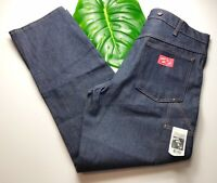 DEADSTOCK 1980's Men's WILD ASS Engineer Jeans by Baileys Brand Size 38 x 34 NWT