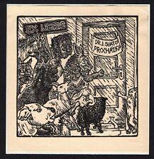 30)Nr.101- EXLIBRIS- Josef Vachal, 1925
