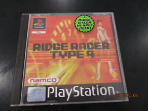 Jeu RIDGE RACER TYPE 4 - Sony Playstation 1 (PS1) - Français (PAL) - Complet