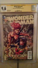 Wonder Woman #47 (Cheetah) CGC 9.6 AUTOGRAPHED by DAVID & MEREDITH FINCH