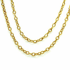 Kette Halskette Ankerkette 14kt. 585 Gelbgold Nr.187