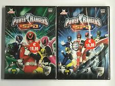 Power Rangers S.P.D. serie completa 9 DVD - 2 BOX -  NUOVI