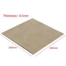 0.5mm Titanium Plate Titanium Ti Sheet Plate 100mmX100mmX0.5mm Grade.2 Metal