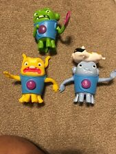 HOME the Movie ~  Set of 3 ~ McDonalds Toys 2015 Boov Alien Figures
