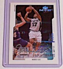 2000-01 Upper Deck MVP Super Script Parallel Mario Elie /25 Spurs Warrios 76ers