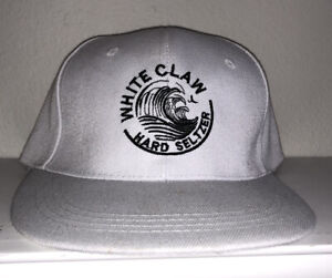 White Claw Hard Seltzer Summer Adjustable Hat