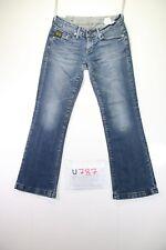 G-Star Midge Custom (Cod.U787) Tg43 W29 L32 jeans used Woman Low Waist vintage