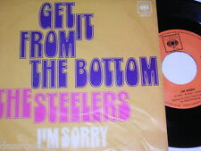 """7"""" - The Steelers/get it from the bottom & I 'm Sorry - 1969 CBS # 0654"""