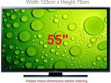 "TV Screen Protector ANTI GLARE TV Shield 55"" (width 125cm x height 75cm)"