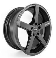 Seitronic® RP6 Matt Black Alufelge 9,5x19 5x112 ET35 Audi TT Roadster 8J