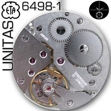 MOVEMENT ETA UNITAS 6498-1, STANDARD VERSION, SMALL SECOND 6H