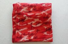 Northpoint Red Camo Fleece Blanket