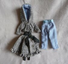 """Vintage Small Doll Outfit Skirt Jacket Pants Larger 11+"""" LMR Type Fashion Doll"""