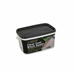 Bond-It Drive Alive Clear Coat Block Sealer For Paths and Driveways
