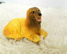 "Vintage New-Ray Soft Rubber Afghan Hound Dog Toy Figure 2"" Tal"