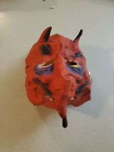 VINTAGE KEITH WARD CREATION EARLY RUBBER HALLOWEEN DEVIL MASK