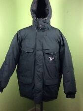 Rare Vintage Triple Fat Goose Down Jacket Winter Hood Coat Parka Mens XXL green