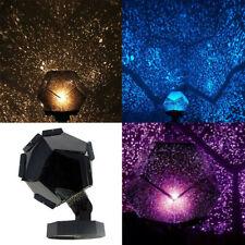 Star Sky Projector Night Light Bulb Lamp Romantic Cosmos Astro Galaxy Decor