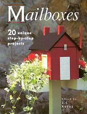 MAILBOXES 20 Unique step-by-step projects G E Novack create build wooden mailbox