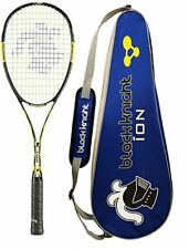 Black Knight Ion X Force Black Squash Racquet Racket w/ cover
