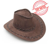 DBr Western Cowboy Cowgirl Cattleman Hat Unisex Adult Party Costume Halloween