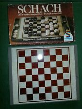 Schachspiel, Magnetisch, Schmidt, Magnet, Reisespiel