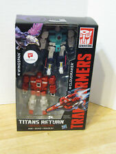 Transformers Titans Return Legend Class Wingspan & Cloudraker Clones NIP VHTF
