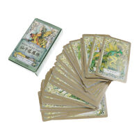 fairy tarot cards deck vintage antique set high quality colorful card box gam  B
