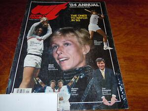 "VINTAGE JANUARY 1985 "" WORLD TENNIS "" MAGAZINE - MARTINA NAVRATILOVA COVER"