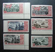 Russia 1947 #1183-1188 MNH OG Russian Soviet October Revolution Set $38.00!!