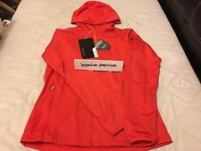 Nike Women's Shield Wind Golfing Jacket Red Size Small (S)