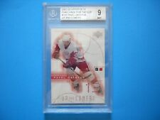 2001/02 UPPER DECK CHALLENGE FOR THE CUP CARD #105 PAVEL DATSYUK ROOKIE BGS 9 MT