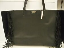 VICTORIA'S SECRET HANDBAG PURSE TOTE LIMITED EDITION EXTRA LARGE FAUX LEATHER WI