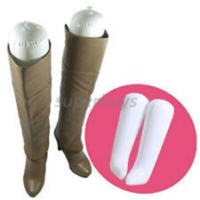 Blow-up Inflating Boot Shoe Shaper Insert Maintain Shape Stand Fit Inflatable