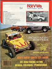 Dune Buggies and Hot VWs Magazine March 1978 Project Rabbit ACC 020916jhe