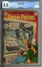 DOOM PATROL #86 CGC 3.5 CR/OW PAGES