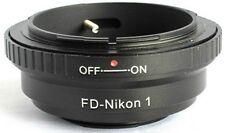 Canon FD to Nikon 1 Mount Adapter J1 J2 J3 V1 V2 FD-N1