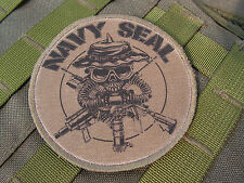 "Patch / écusson "" NAVY SEAL "" BASSE VISIBILITE - US special forces ABU ACU BDU"