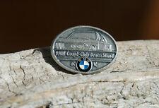 VERY NICE VINTAGE ENAMEL AUTOMOBILE CAR PIN # BMW COUPÉ CLUB GERMANY