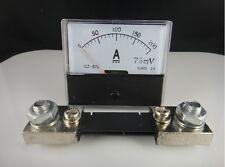 Analog Amp Panel Meter Current Ammeter DH-670 DC 0-200A+Shunt Resistor