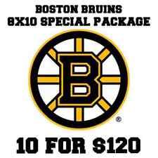 10 Boston Bruins autographed signed 8x10s Patrice Bergeron Shawn Thornton Krejci