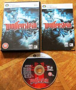 Wolfenstein 2009 (PC CD-ROM) ID Raven Activision - Good Condition + Error Tested