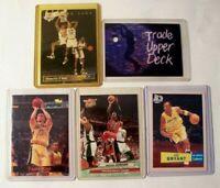 NBA Basketball Cards Shaq Jordan Kobe Kidd