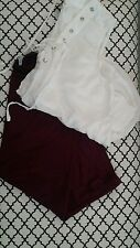 NWT• Splendid plum purple Women's Casual skirt size XS