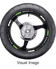 KAWASAKI RACING GREEN REFLECTIVE MOTORCYCLE WHEEL TAPE STICKERS RIM DECAL VINYL