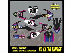 KTM SX 50 65 MOTOCROSS  Graphic Kit-Sticker Kit-Decals-All Years-Pink